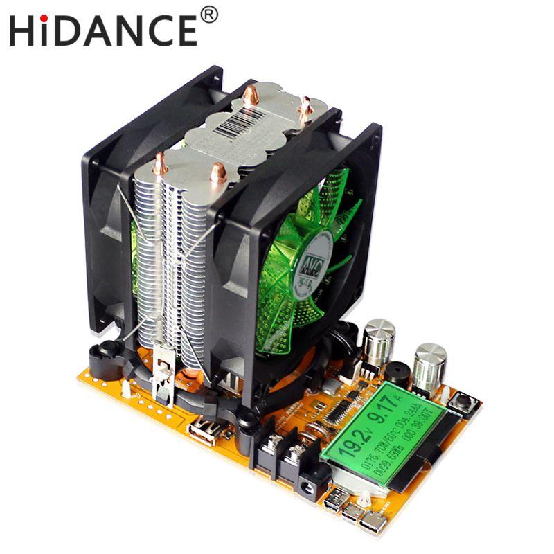 180 w Numérique batterie capacité testeur alimentation indicateur dc 12 v charge électronique 18650 déchargeur résistance usb vérifier test
