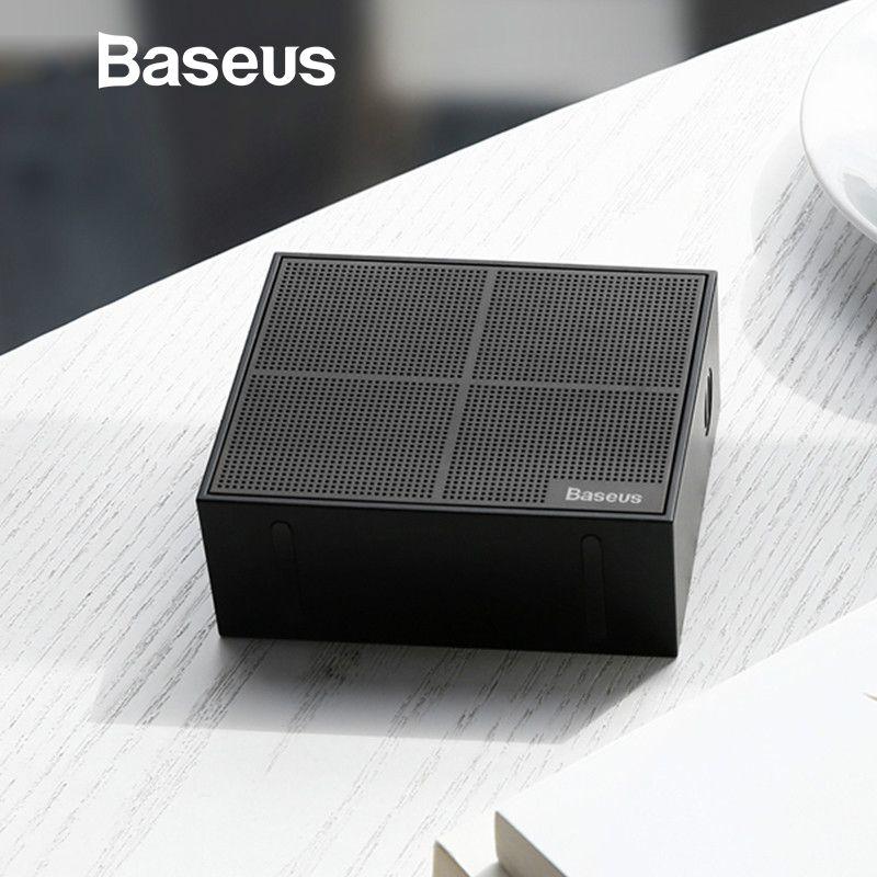 Baseus E05 Bluetooth Lautsprecher Tragbare Outdoor Platz Box Drahtlose Lautsprecher Mit 15 Stunden Super Lange spielen zeit Bass-Sound-box