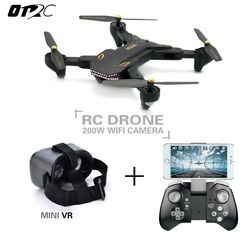 VISUO XS809S (XS809HW Upgraded) Foldable RC Drone with 720P Wide Angle HD Camera FPV Quadcopter Helicopter Mini Dron otrc