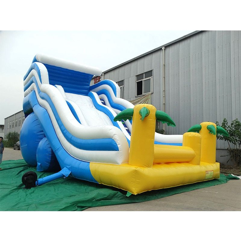 China factory Free blower Commercial inflatable bouncer big slide for kids