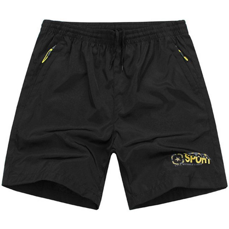 7XL Strand Reißverschlusstasche Shorts Männer 2017 Herren Shorts Homme Marque Bermudas Masculina De Marca Casual Solide Boardshorts