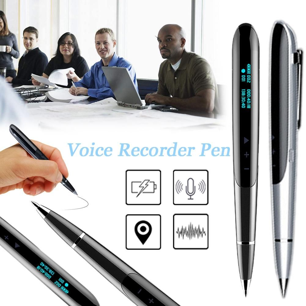 JNN Q9 8 gb Led-anzeige Digital Recorder Stift Versteckte Digitale Audio Sound Voice Recorder Aufnahme Stift Berufs Diktiergerät