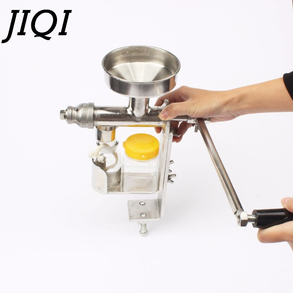Manuelle Ölpresse Maschine Hand squeeze Öl Presser Expeller Extractor Erdnuss Nüsse Samen öl extraktion maker Extraktion Presser