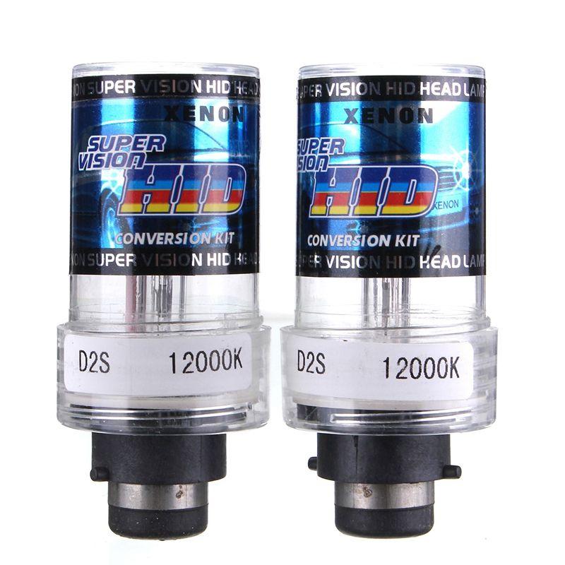 Прочный 2X35 Вт D2S/D2C автомобиль для Ксеноновые замена Авто источник света фар лампа 4300 К 5000 К 6000 К 8000 К 10000 К 12000 К