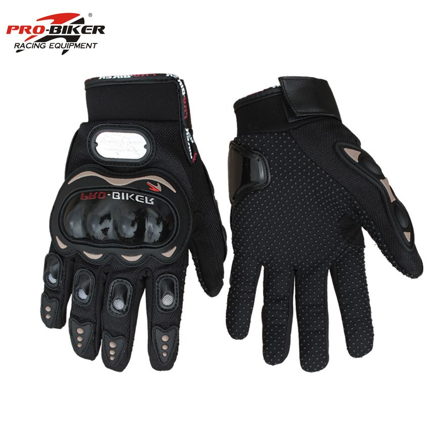 Motorcycle Full Finger Gloves Motocross Racing Protective Guanti MX Cycling Glove Motor Bike Guantes Luvas Pro-biker MCS-01C