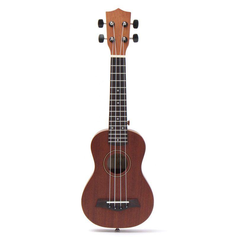 Zebra 21'' 4 Strings Concert Ukulele Ukelele Electric 15 Fret Acoustic Guitarra Bass Guitar For Musical Stringed Instruments