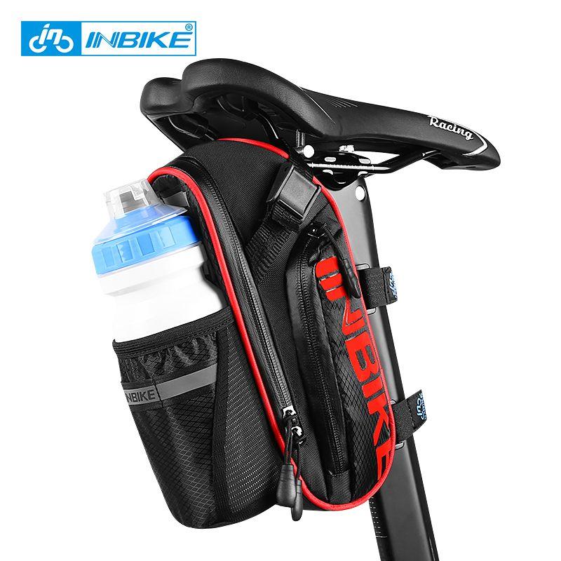 INBIKE Bicycle Saddle Bag Waterproof MTB Bike Rear Bags Seatpost Cycling <font><b>Tail</b></font> Bag SX510