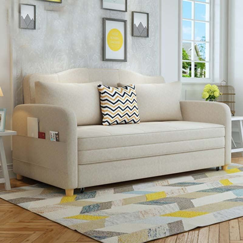 Multifunctional sofa bed living room double simple modern storage small apartment cloth folding bed