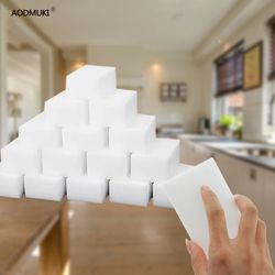 40/100pc Magic Sponge Eraser Melamine Sponge Kitchen Duster Wipes Clean Accessory/Office/Microfiber Dish Cleaning Nano Wholesale