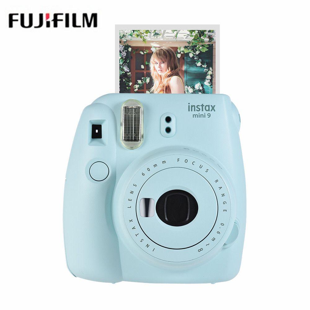 Envío libre de nuevo Fujifilm instax mini 9 cámara nueva cámara temporizador automático Cámara lomo Film imagen