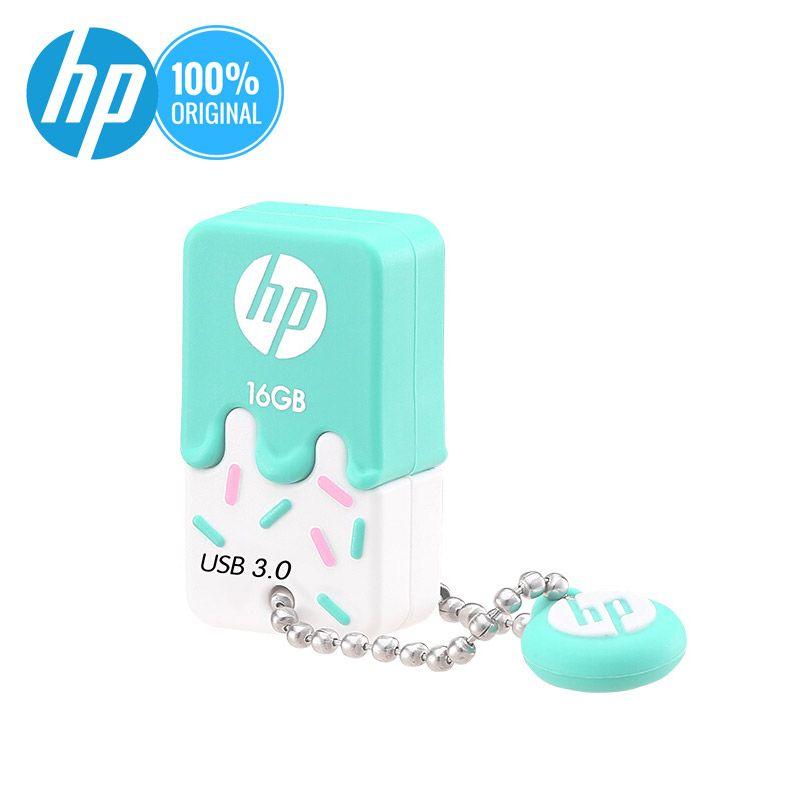 Lecteur Flash USB HP 16 gb 32 gb 64g Cle USB 3.0X778 W lecteur de stylo à mémoire en Silicone minuscule clé USB U disque sur clé pilote de pouce DJ