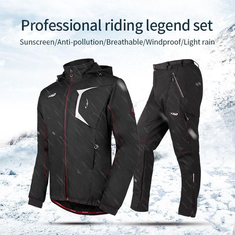Rad Up 2017 Radfahren Jersey Wasserdicht und Winddicht Winter herren Sport Uniform MTB Mountainbike Sport anzug Cube Kleidung
