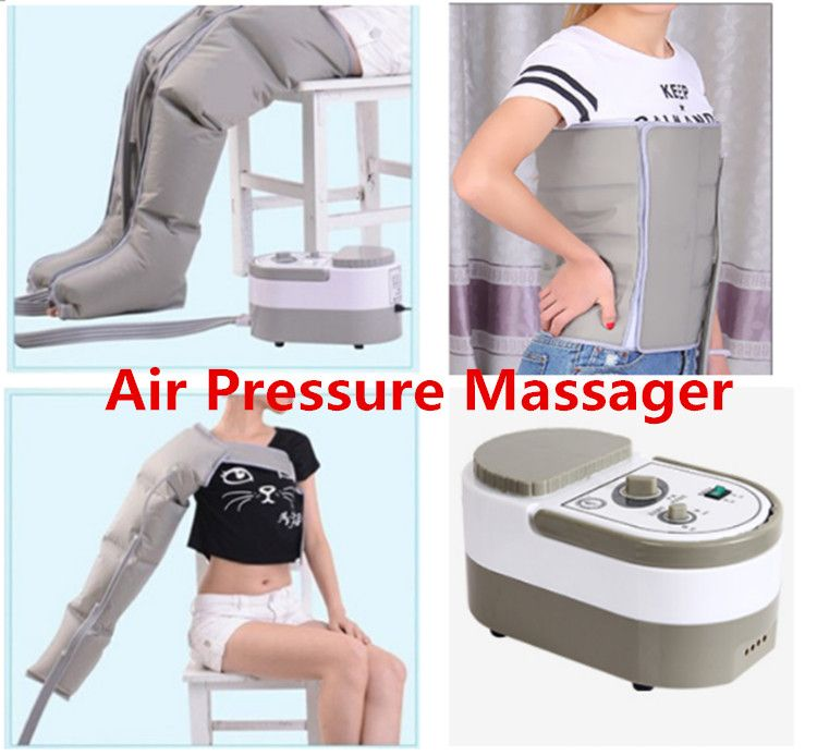 Air Pressure Massaging Machine Muscle Massager Release Edema Varicosity Myophagism Body Slimming Rehabilitation Free Shipping