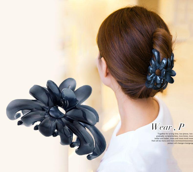 Femmes chapeaux de mode douche cheveux catcher passoire griffe de cheveux coréenne cheveux clips vintage cheveux accessoires pour femmes