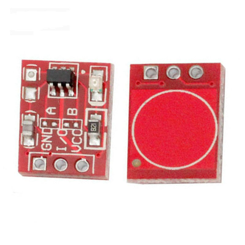 Free shipping 10PCS TTP223 Touch Key Switch Module Touching Button Self-Locking/No-Locking Capacitive Switches Single Channel
