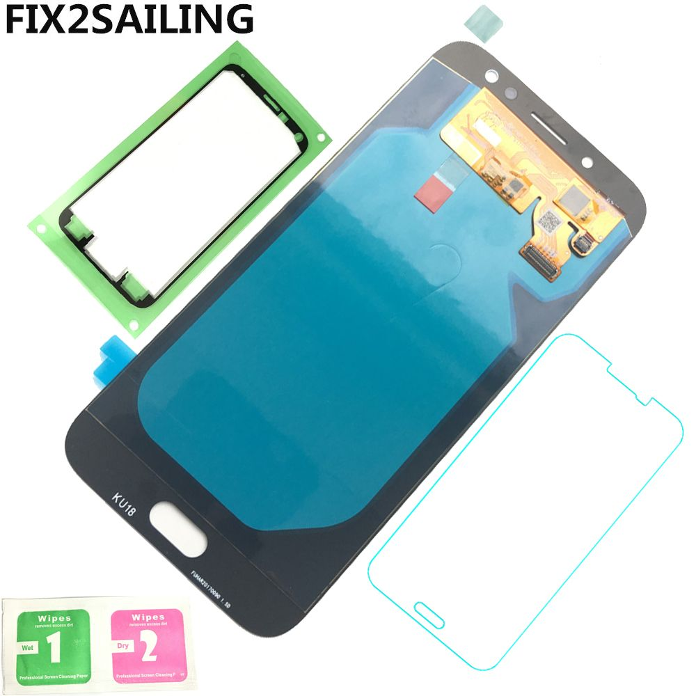 Display J7 Super AMOLED 100% Tested Working LCD Touch Screen Digitizer Assembly For Samsung Galaxy J7 Pro 2017 J730 J730F