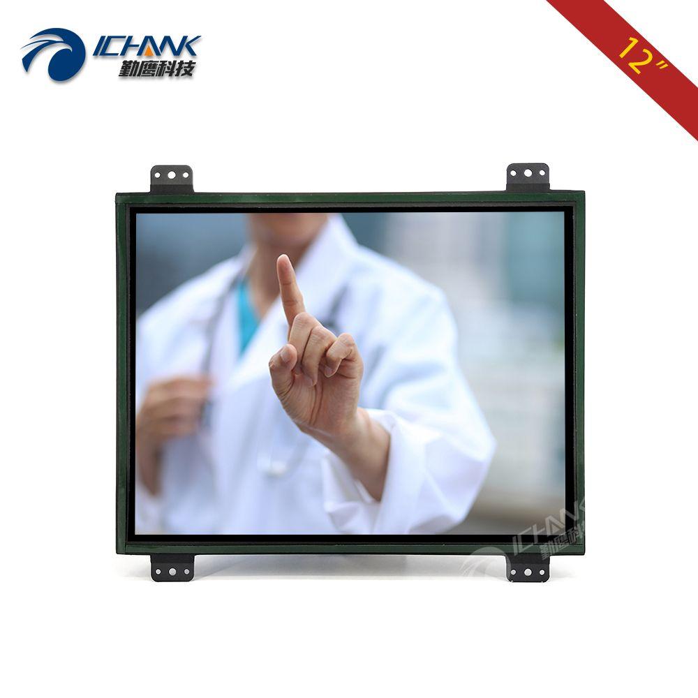 K120TC-DUV2/12 pouce Ouvert Cadre DVI Tactile Moniteur/12.1