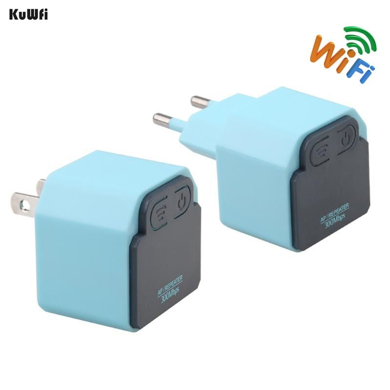 300Mbps Wireless Repeater 2.4Ghz WI-FI AP Router 802.11N Signal Amplifier Wifi Range Extender Booster With US/EU Plug