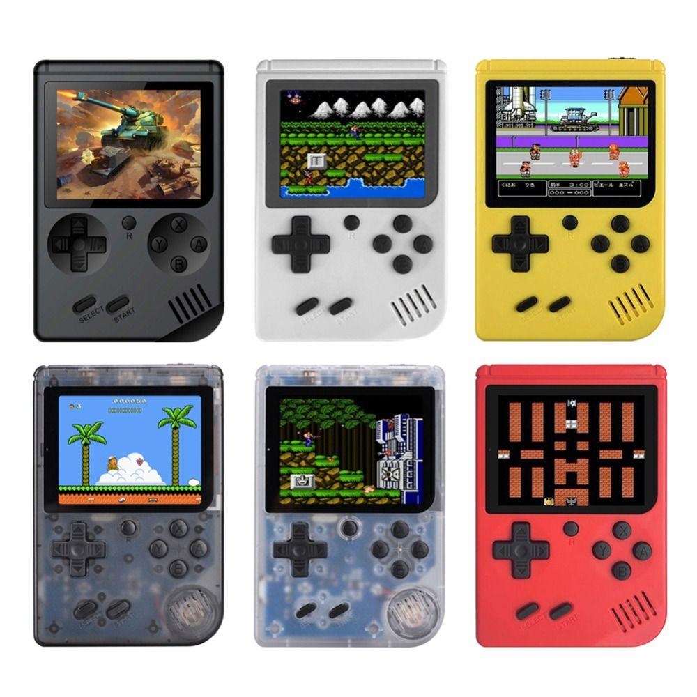 Console de jeu vidéo 8 bits rétro Mini poche lecteur de jeu de poche intégré 168 jeux classiques meilleur cadeau pour enfant lecteur nostalgique