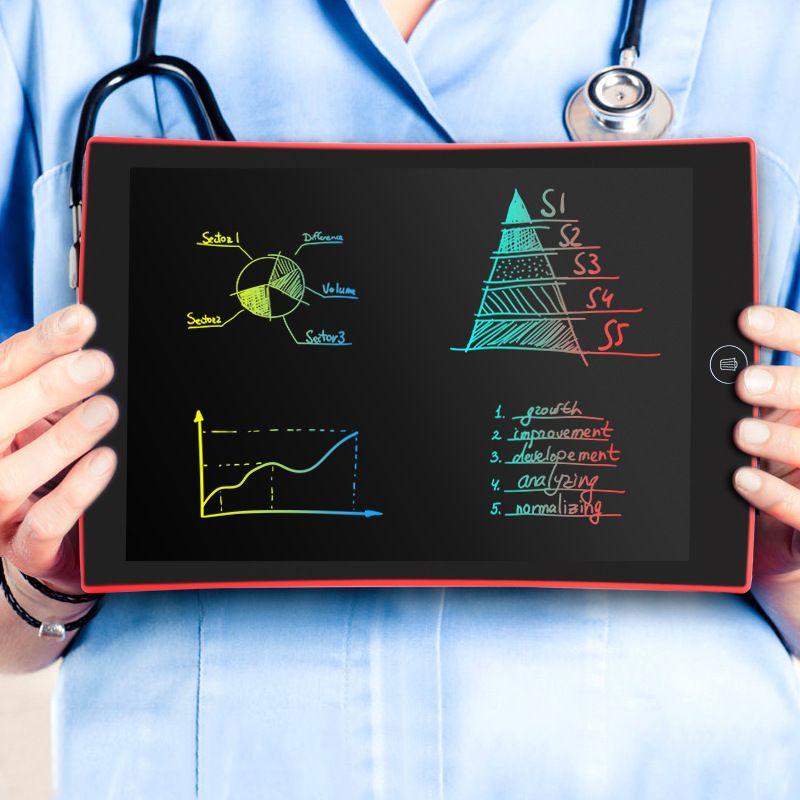 Jouets éducatifs pour enfants jouets éducatifs pour bébé enfant tablette de police couleur LCD haute luminosité de 9.5 pouces (rechargeable)
