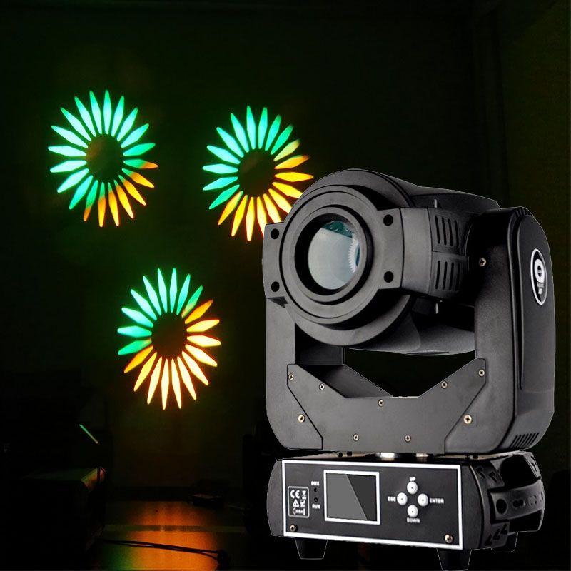 90 watt LED Moving Head Spot Gobo Licht 90 watt LED Gobo Muster RGBW 4in1 LED DMX Spot Moving Head licht für DJ Disco Party-Event Bühne