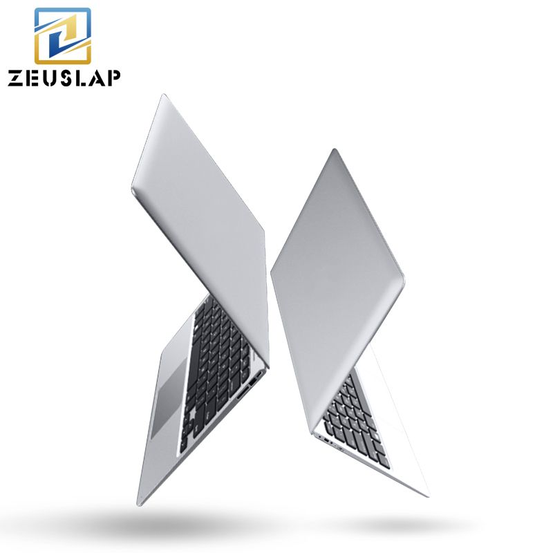 ZEUSLAP-A8 14inch Ultraslim 8GB RAM+128GB SSD Windows 10 System Intel Quad Core Fast Run Ultrabook Laptop Notebook Computer