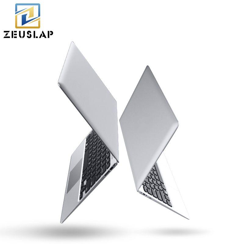 ZEUSLAP-A8 14inch Ultraslim 8GB RAM+128GB SSD Windows 10 System Intel Quad Core Fast Run Ultrabook Laptop Notebook Computer