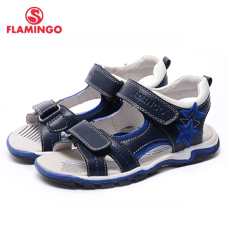 FLAMINGO famous brand 2017 New Arrival Spring & Summer Kids Fashion High Quality sandals for boys 71S-XY-0239