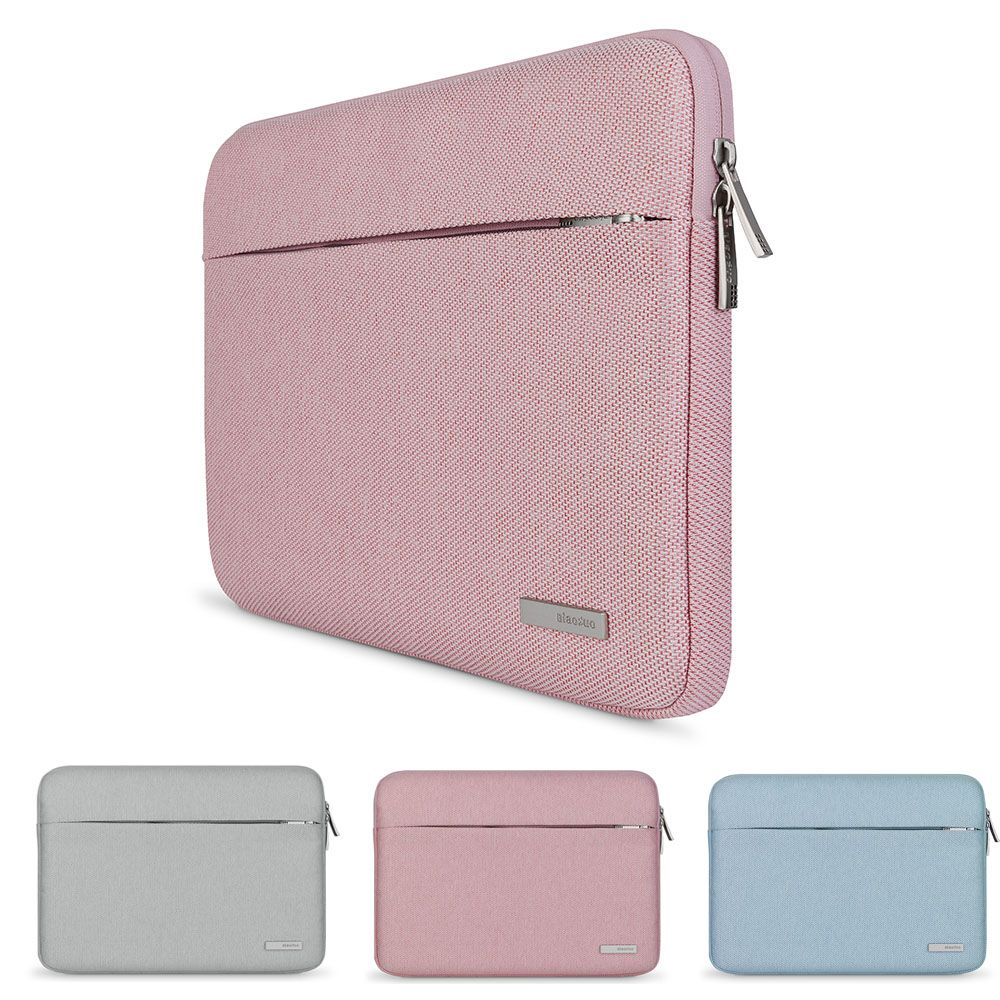 Hommes Femmes Souple Laptop Sleeve pour Microsoft Surface pro 3 pro 4 Ordinateur Portable Doublure Sac de Transport Housse pour Macbook 11 11.6 12