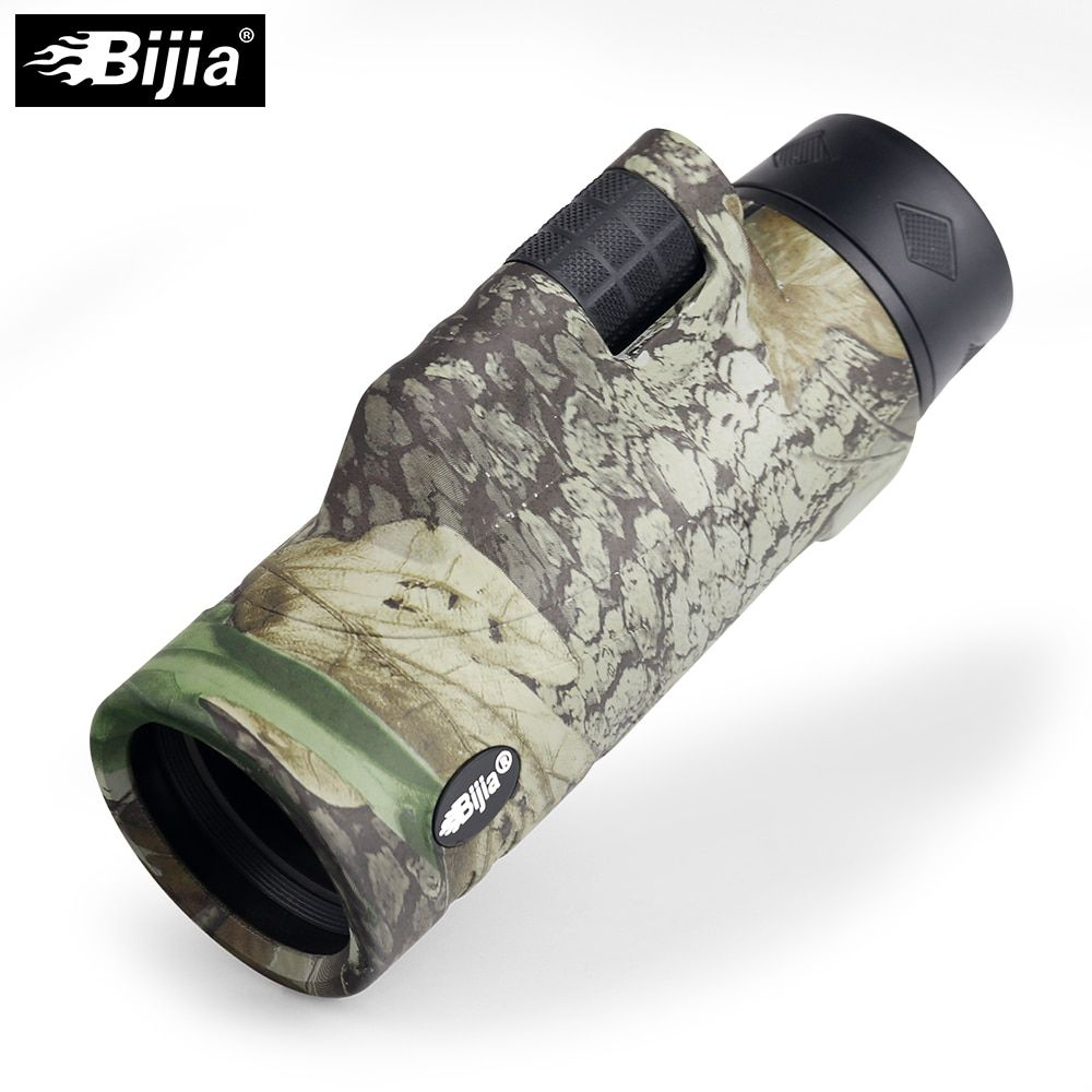 BIJIA 10x42 Monokulare 4 Farben Travel teleskop BAK4 Prisma Mehrlagenbeschichtung Hand Fokus Für Jagd Vogelbeobachtung