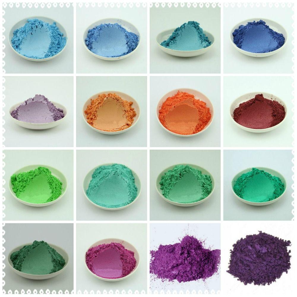 100g sain naturel minéral Mica poudre bricolage pour savon Colorant savon Colorant maquillage fard à paupières savon poudre livraison gratuite