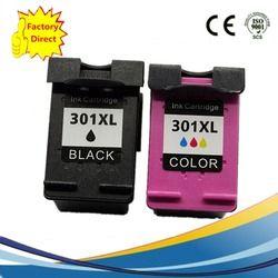 2 x Cartouches D'encre Remanufacturées Pour HP 301 XL 301XL HP301 HP301XL Deskjet 1000 1010 1050 1050A 1510 1512 1514 2050 2050A 2054A