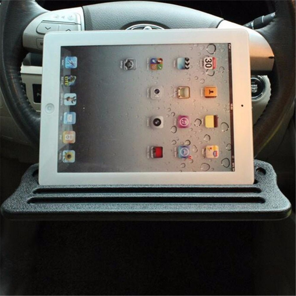 Car Holder Tablet Stand Drink Holder Universal Steering Wheel Tablet Car Holder iPad Stand Desk Table iPad Support Wheel Tray