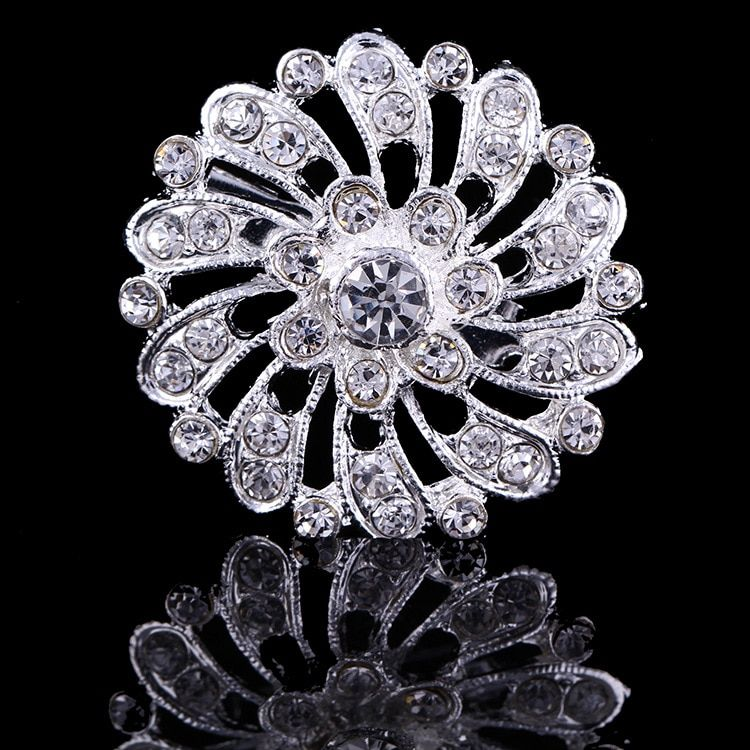 Hot Sale Fahsion Delicate Rhinestone Brooches For Women,Ladies party Dresses Brooch,Women Wedding Brooches Wholesale,Hijab pins