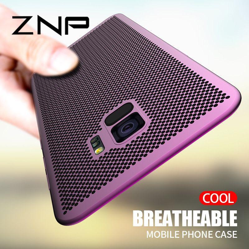 ZNP Ultra Slim Wärmeableitung Harte PC Fall Für Samsung Galaxy A3 A5 A7 2017 A6 A8 2018 J4 J6 plus Telefon Fall Für Samsung J5 J7