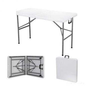 Portable HDPE tables Pliantes pour camping en plein air et exposition réception