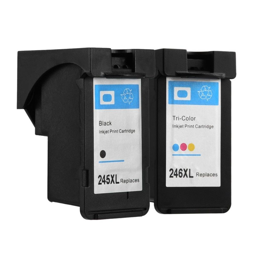 For Canon 245 and 246 Ink Cartridges PG245 CL246 XL for Canon Pixma IP2820 MX492 MG2924 MX492 MG2520 MG2920 MG2420 MG2400 MG2580