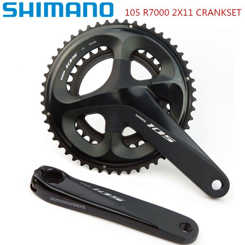 Shimano 105 R7000 2x11 geschwindigkeit 170/172. 5mm 52-36 t 53-39 t 50-34 t Rennrad Fahrrad Kurbel ohne BB update von 5800