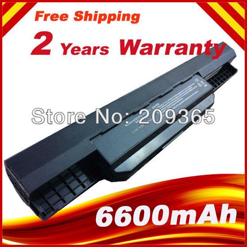 7800mAh 9 Cells Laptop Battery For Asus K53S K53 K53E K43E K53 K53T K43S X43E X43S X43E K43T K43U A53E A53S K53S Battery