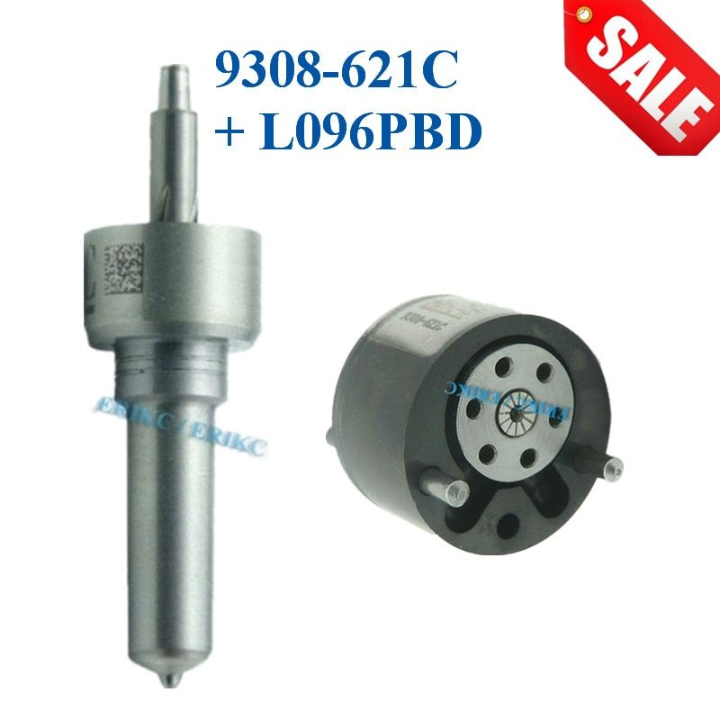 ERIKC Control Valve 9308-621C Nozzle L096PBD Repair kits 7135-652 Fuel Injector for Inyector EJDR00301Z EJBR00101Z EJBR00201Z