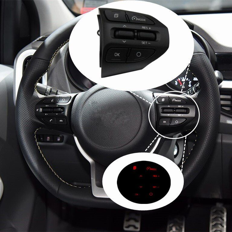 Fast delivery ! For Kia Rio (K2 ) 2016-2017 2018 cruise control buttons switch steering wheel buttons .