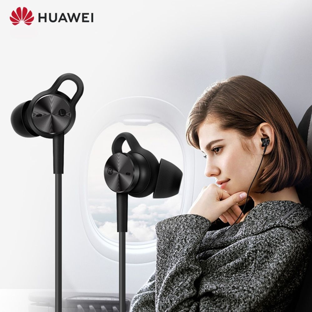 HUAWEI Active Noise Canceling Earphones 3 Hi-Res Quality Music Type-C Charge-Free Mic Anti-Wind Design earphone