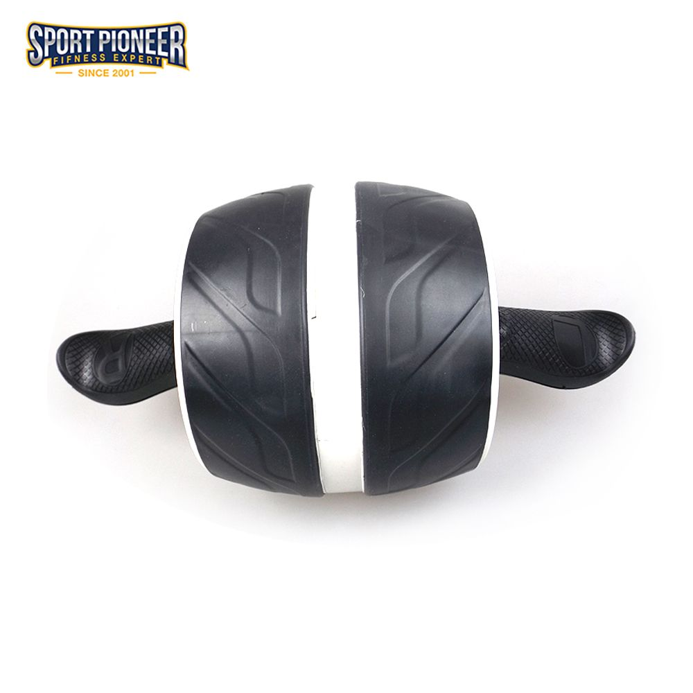 Премиум тренажер core тренировки роликовые колеса
