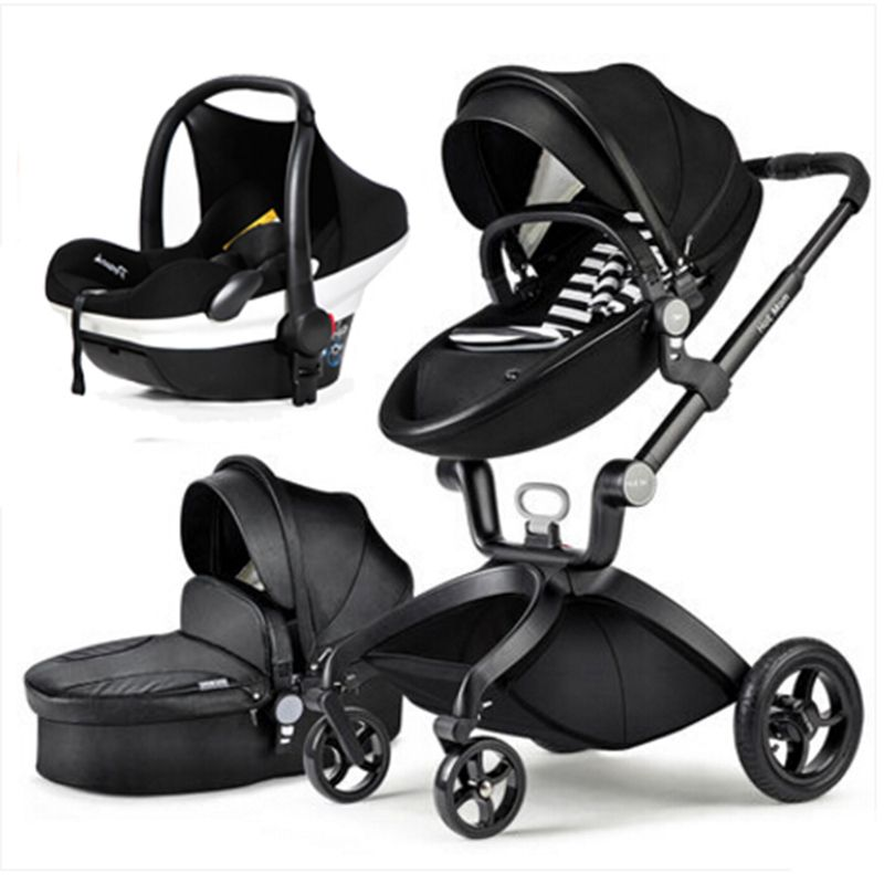 Hotmom stroller high landscape can sit or lie folded stroller lightweight children stroller Russia free shipping