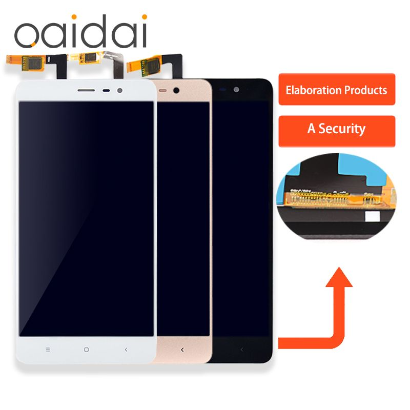 For Xiaomi Redmi Note3 LCD Display Touch Screen Mobile Phone Lcds Digitizer Assembly Replacement Parts 150mm With Free Tools