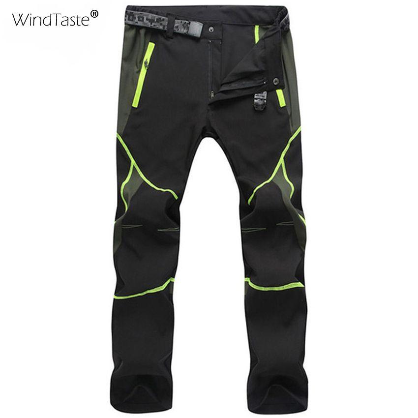 Coupe-vent hommes femmes randonnée pantalon été séchage rapide respirant pantalon imperméable extérieur Trekking mâle femme élastique pantalon KA036