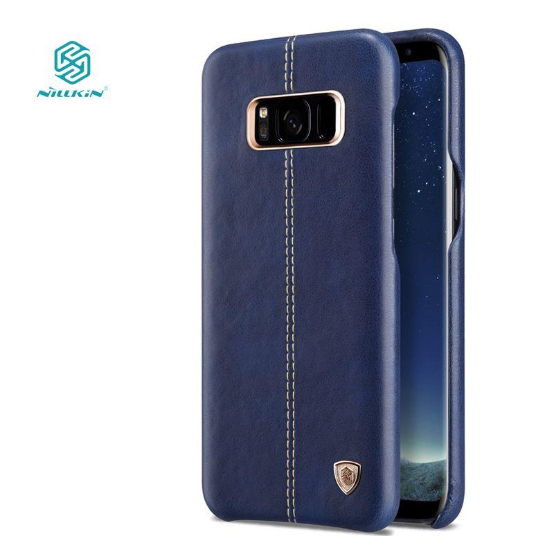Nillkin Englon чехол для Samsung Galaxy S8 Plus Роскошные из искусственной кожи Винтаж задняя крышка для Galaxy S8 Plus телефон случаях 6.2''