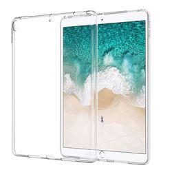 Caja del silicio para el iPad 2/3/4 5 6 aire 1 Mini 1 2 3 4 transparente funda suave TPU caja de la tableta para el iPad 9,7 2017 2018