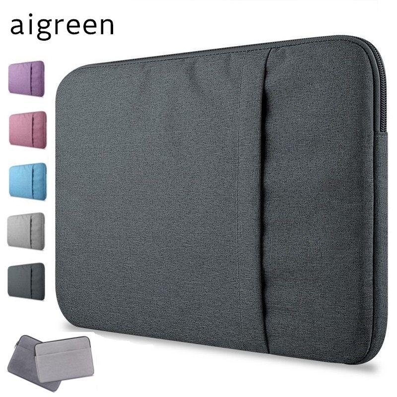 2019 nouvelle marque aigreen housse pour ordinateur portable 11 , 13, 14 , 15, 15.6 pouces, sac pour Macbook Air Pro 13.3, 15.4 , livraison directe gratuite