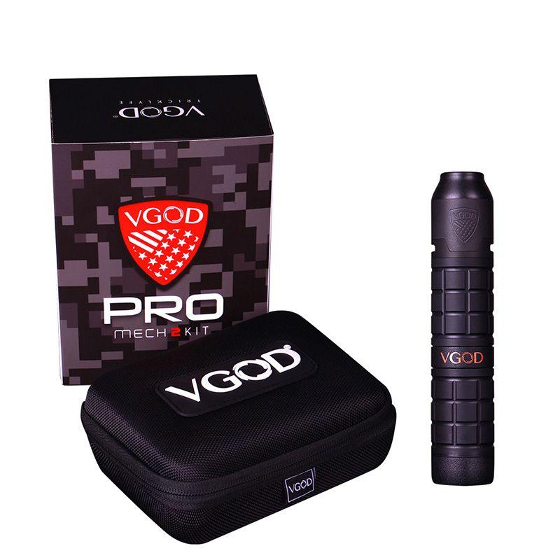 New Arrival Original VGOD Pro Mech 2 Kit with 2ml VGOD Elite Rda pro mech 2 mod upgraded VGOD pro mech mod as vgod elite mod